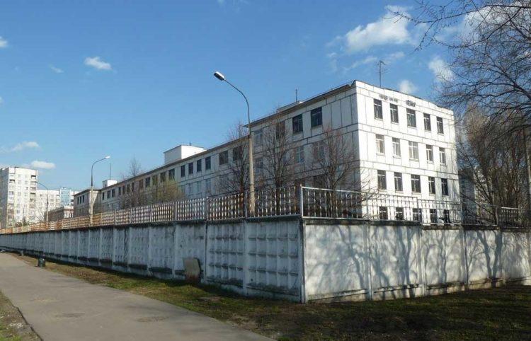 Здание ЦВИНП ГУВД Москвы