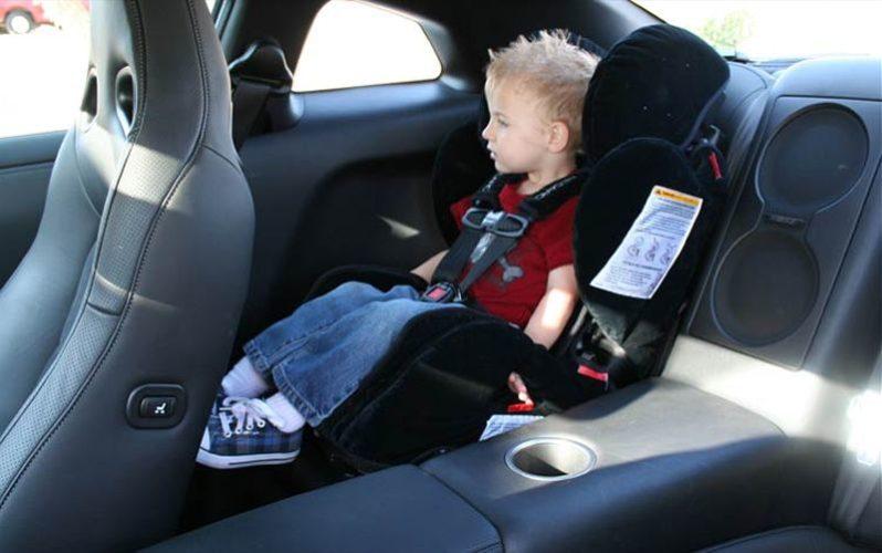штраф за детское автокресло